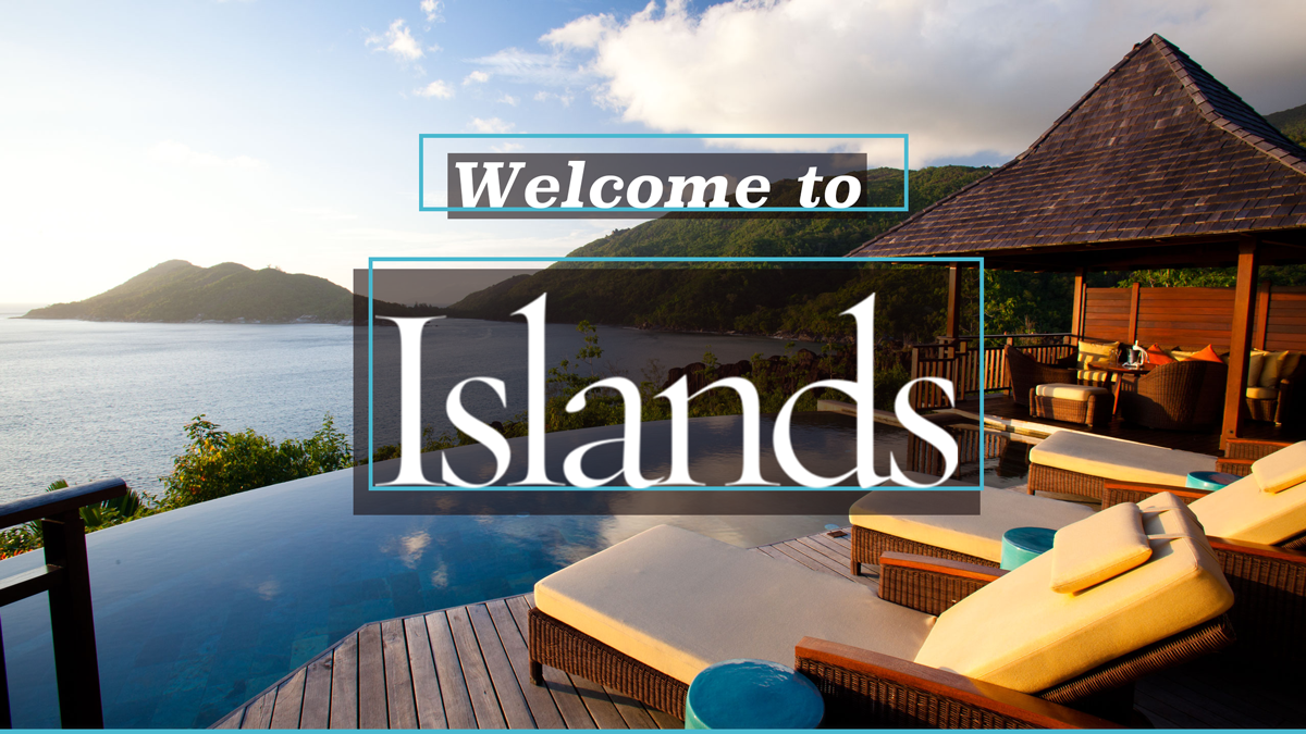 Welcome to Islands